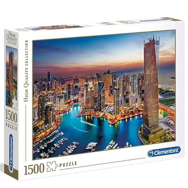 Clementoni Puzzla Dubai Marina 1500pcs 31814 - ODDO igračke