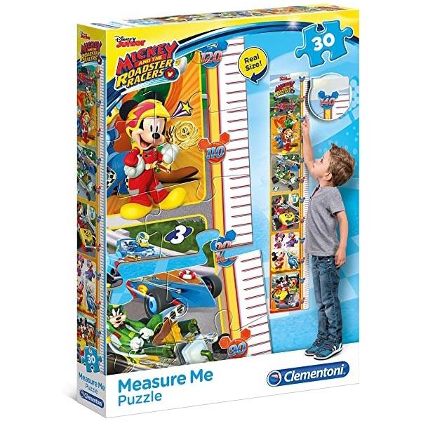 Clementoni Puzzla visinomer Mickey and The Roadster Racers 30pcs 20321 - ODDO igračke