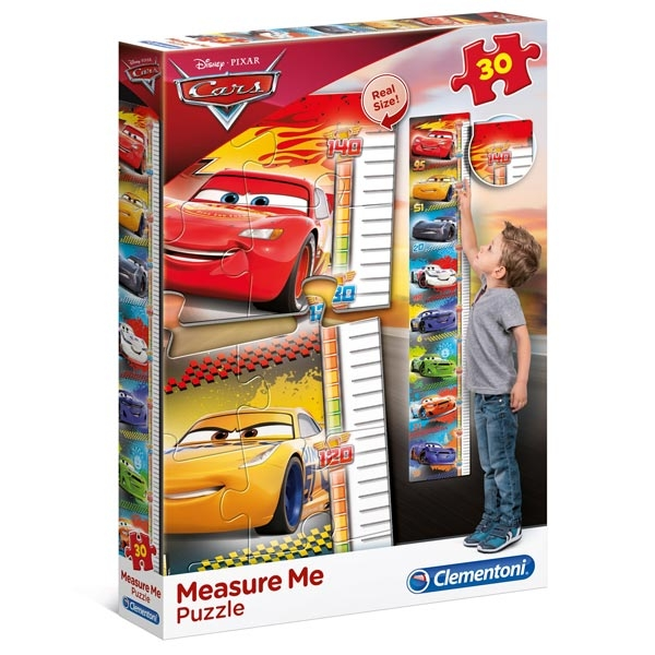 Clementoni Puzzla visinomer Disney Cars 30pcs 20324 - ODDO igračke