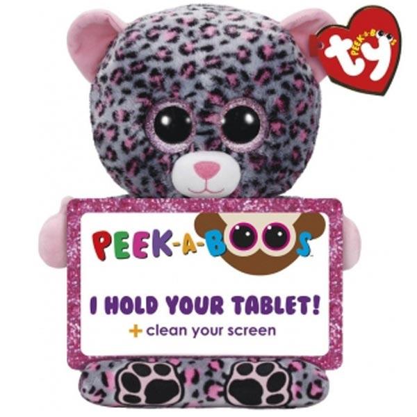 Ty Pliš Drzač tableta Leopard Trixi 32cm 60002 - ODDO igračke