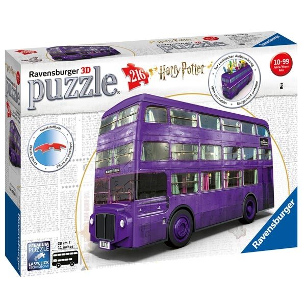 Ravensburger 3D puzzle (slagalice) 216pcs - London bus Harry Poter RA11158 - ODDO igračke