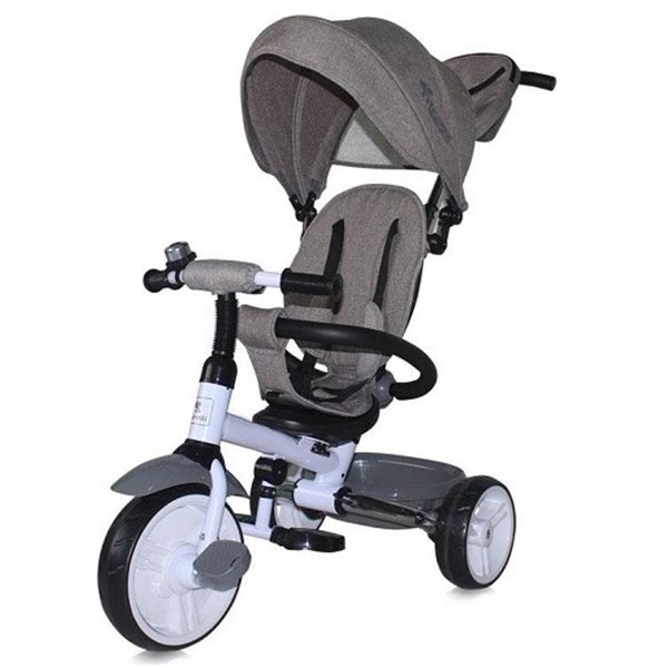 Tricikl Moovo Grey Luxe 10050470005 - ODDO igračke