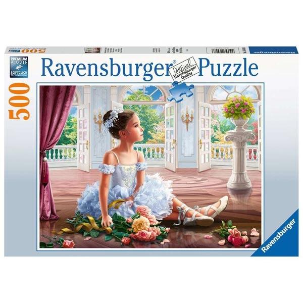 Ravensburger puzzle (slagalice) 500pcs- Nedeljni balet RA16448 - ODDO igračke