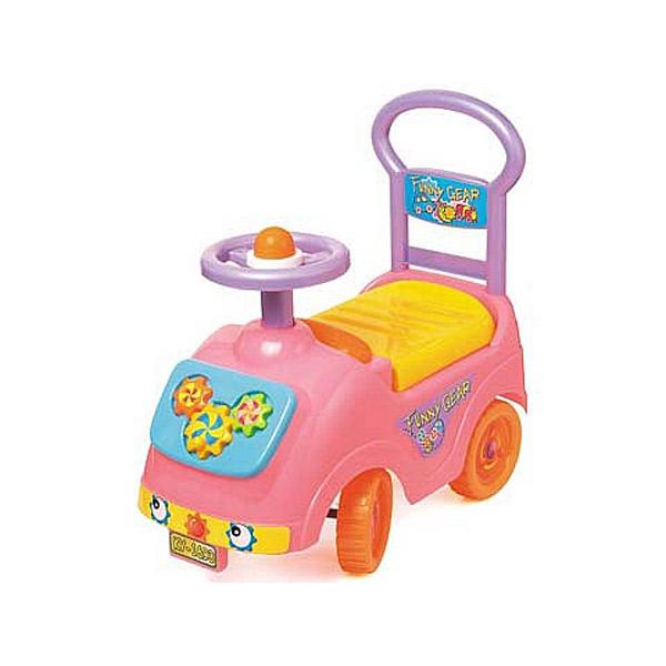 Dečija guralica - Zanimljivi točkovi (pink) KY50731 - ODDO igračke