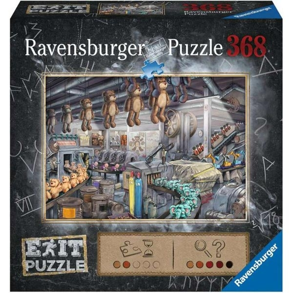 Ravensburger puzzle (slagalice) 368pcs- Exit puzzla fabrika igračaka RA16484 - ODDO igračke