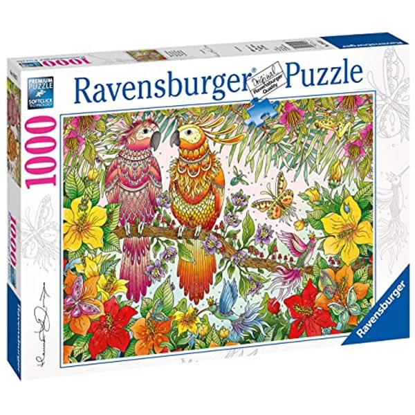 Ravensburger puzzle (slagalice) 1000pcs - Tropski dodir RA19822 - ODDO igračke