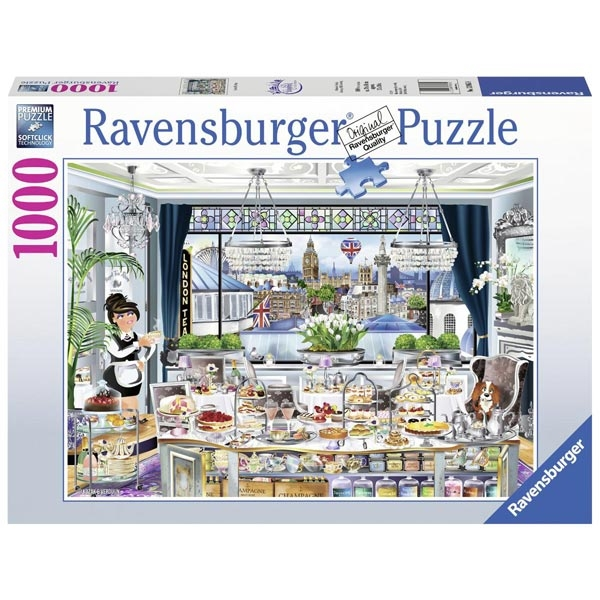 Ravensburger puzzle (slagalice) 1000pcs- London Tea Party RA13985 - ODDO igračke