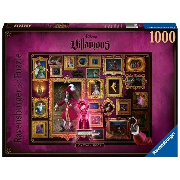 Ravensburger puzzle (slagalice) 1000pcs-Disney Villainous - Kapetan Kuk RA15022 - ODDO igračke