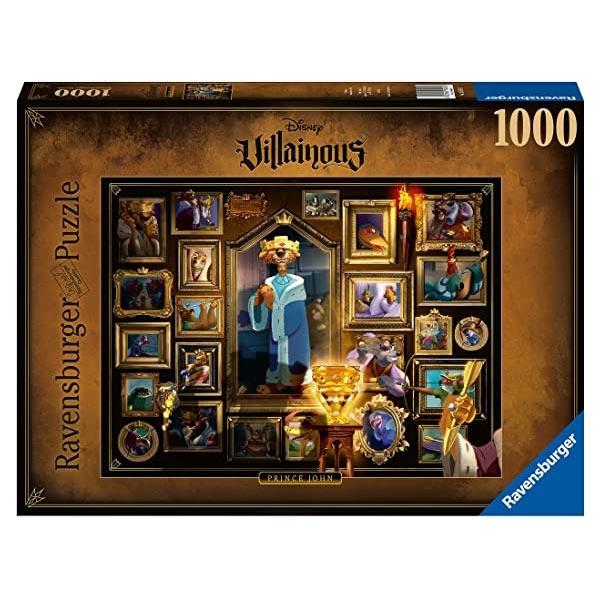 Ravensburger puzzle (slagalice) 1000pcs- Villainous - Prince John RA15024 - ODDO igračke