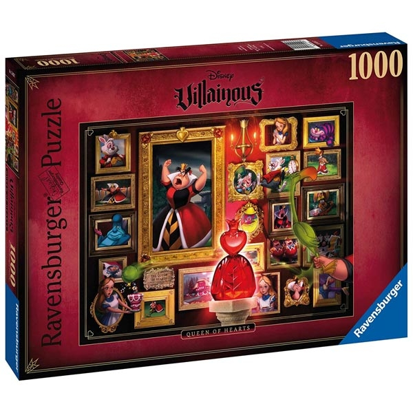 Ravensburger puzzle (slagalice) 1000pcs- Disney Villainous - Queen of Hearts RA15026 - ODDO igračke