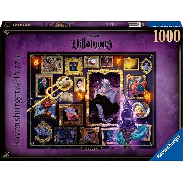 Ravensburger puzzle (slagalice) 1000pcs- Disney Villainous - Ursula RA15027 - ODDO igračke
