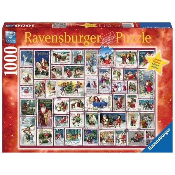 Ravensburger puzzle (slagalice) - 1000 pcs Novogodisnje želje RA19881 - ODDO igračke