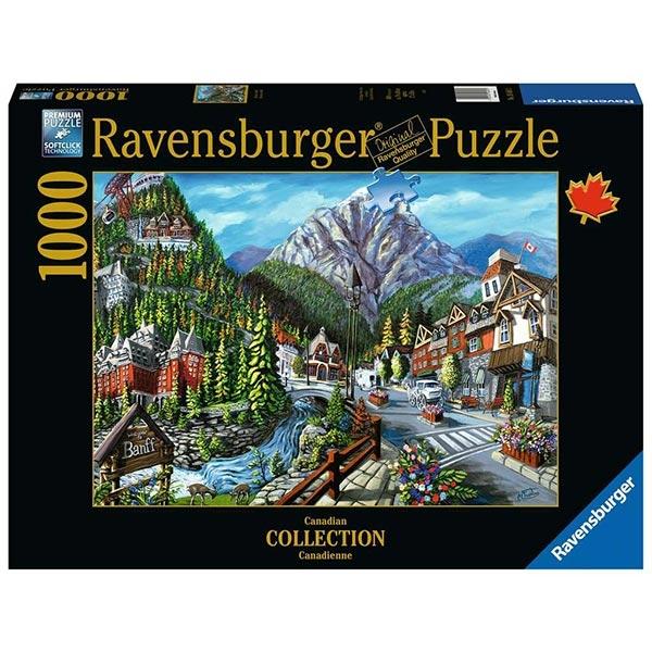 Ravensburger puzzle (slagalice) Collection - 1000 pcs Dobrodošli u Banff RA16481 - ODDO igračke