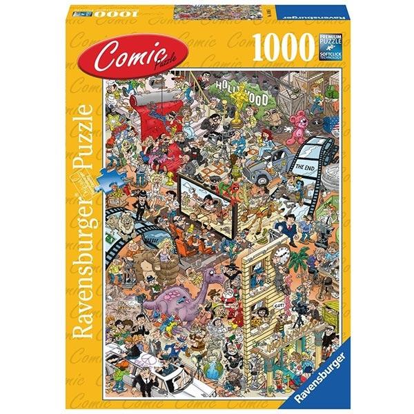 Ravensburger puzzle (slagalice) - 1000 pcs Comics Hollywood RA14985 - ODDO igračke