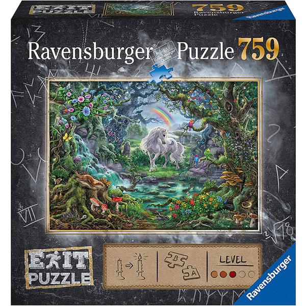 Ravensburger puzzle (slagalice) 759 pcs Exit Unicorn RA15030 - ODDO igračke