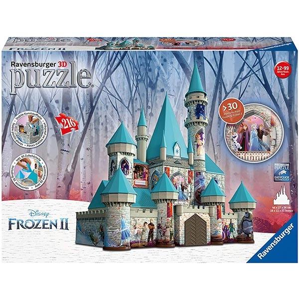 Ravensburger 3D puzzle (slagalice) - Dizni dvorac sa motivom Frozen RA11156 - ODDO igračke