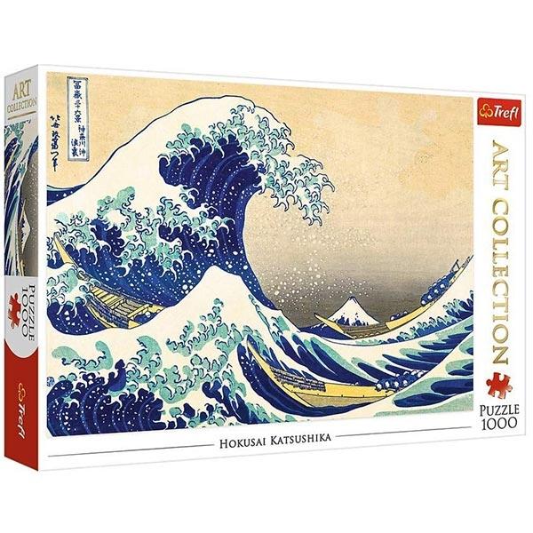 Trefl Puzzla 1000 pcs Art Collection The Great Wave of Kanagawa Bridgeman 10521 - ODDO igračke
