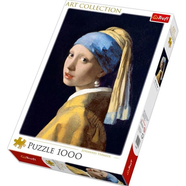 Trefl Puzzla 1000 pcs Art Collection Girl with a pearl earring Bridgeman 10522 - ODDO igračke