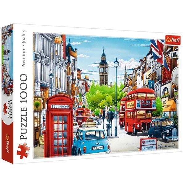 Trefl Puzzla 1000 pcs London street 10557 - ODDO igračke