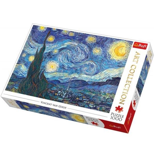 Trefl Puzzla 1000 pcs Art Collection The Starry Night Bridgeman 10560 - ODDO igračke