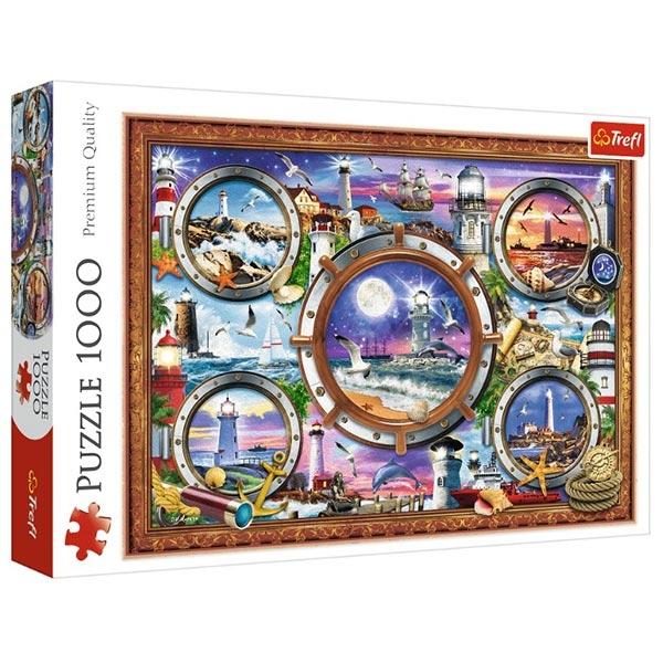 Trefl Puzzla 1000 pcs Najlepši Svetionici Lighthouses 10584 - ODDO igračke