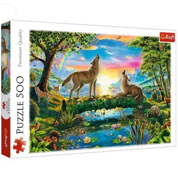 Trefl Puzzla 500 pcs Lupine nature 37349 - ODDO igračke