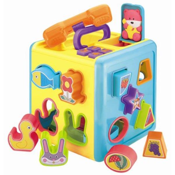 Kocka za pogađanje oblika 25/23116-1 - ODDO igračke