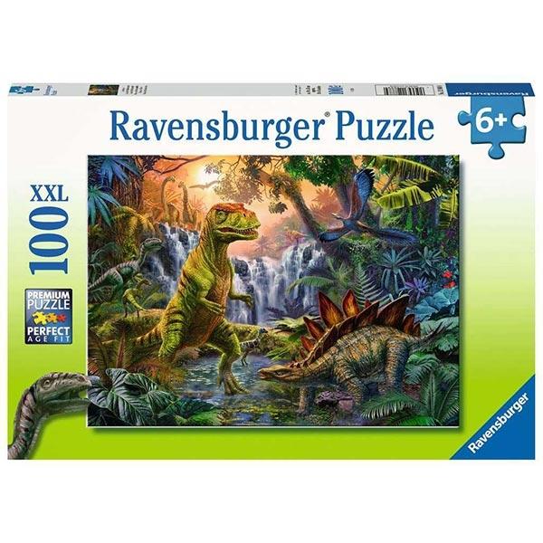 Ravensburger puzzle (slagalice) 100pcs Dinosaurusi u dzungli RA12888 - ODDO igračke