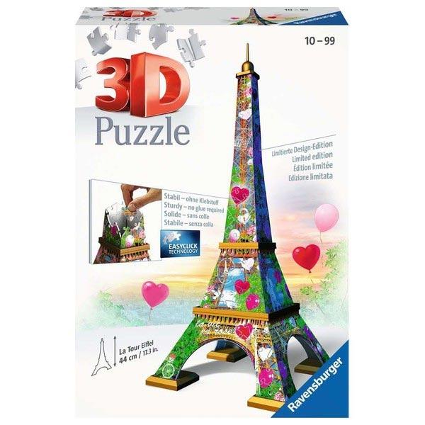 Ravensburger 3D puzzle (slagalice) - Ajfelov toranj  Love Edition 216 Delova RA11183 - ODDO igračke