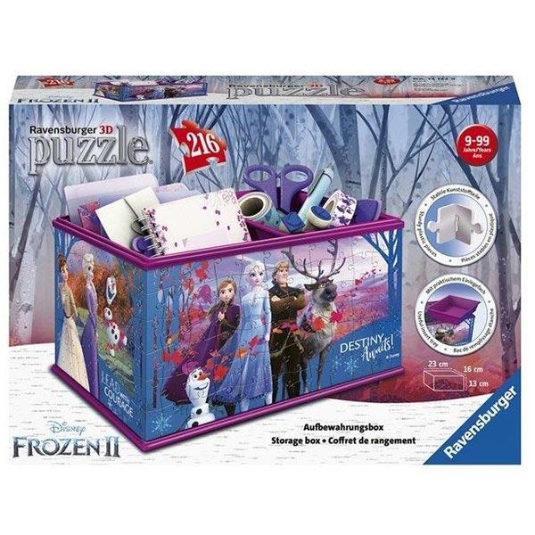 Ravensburger 3D puzzle (slagalice) - Kutija za sitnice Frozen 2 206 delova RA12122 - ODDO igračke