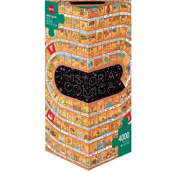 Heye puzzle 4000 pcs Triangle Degano Komična Istorija 2 29342 - ODDO igračke