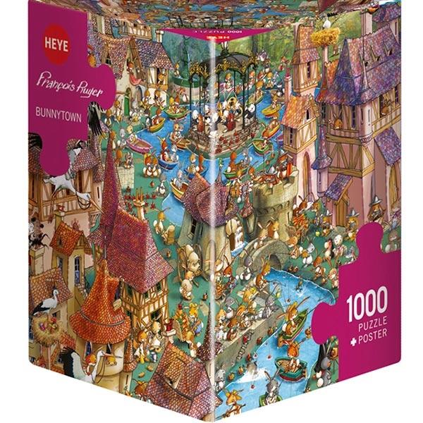 Heye puzzle 1000 pcs Triangle Ruyer Bajkoviti Zečji Grad 29496 - ODDO igračke