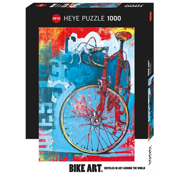 Heye puzzle 1000 pcs Bike Art Red Limited 29600 - ODDO igračke