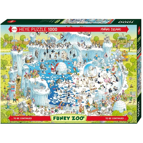 Heye puzzle 1000 pcs Degano Fanky Zoo Polar 29692 - ODDO igračke
