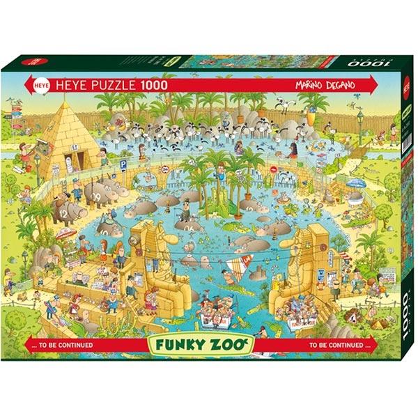 Heye puzzle 1000 pcs Degano Fanky Zoo Egyp Nile 29693 - ODDO igračke