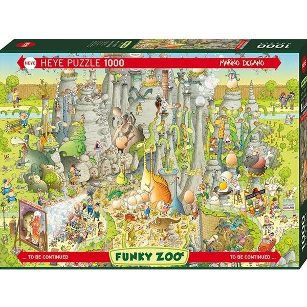 Heye puzzle 1000 pcs Degano Fanky Zoo Jurassic 29727 - ODDO igračke