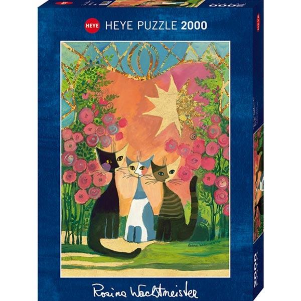 Heye puzzle 2000 pcs Rosina Roses 29721 - ODDO igračke