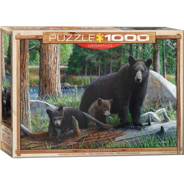 Eurographics New Discoveries by Daniel Kevin 1000-Pieces Puzzle 0793 - ODDO igračke