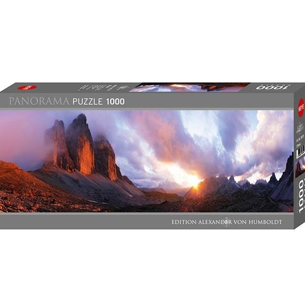 Heyepuzzle 1000 pcs Edition Humboldt Panorama 3 Peaks 29770 - ODDO igračke