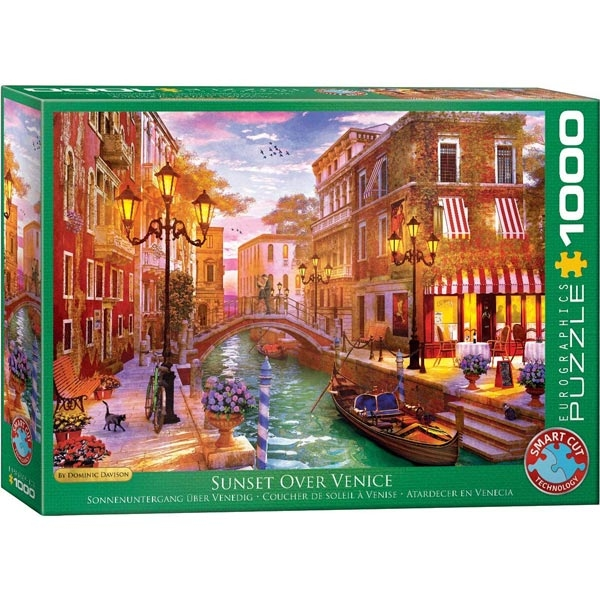 Eurographics Sunset Over Venice 1000-Pieces Puzzle 5353 - ODDO igračke