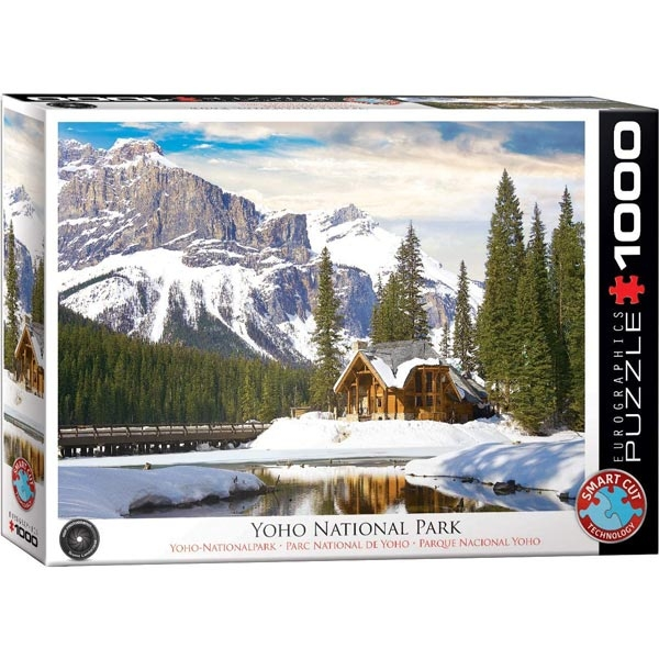 Eurographics Yoho National Park British Columbia 1000-Pieces Puzzle 5428 - ODDO igračke