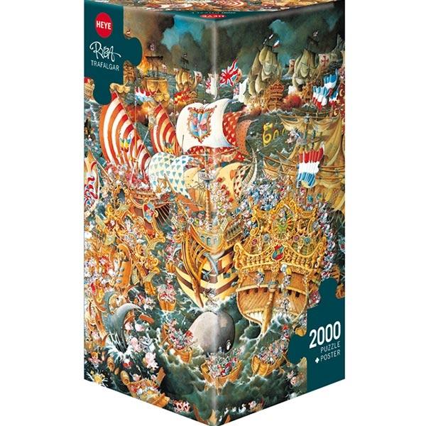 Heye puzzle 2000 pcs Triangle Ryba Trafalgar 29795 - ODDO igračke