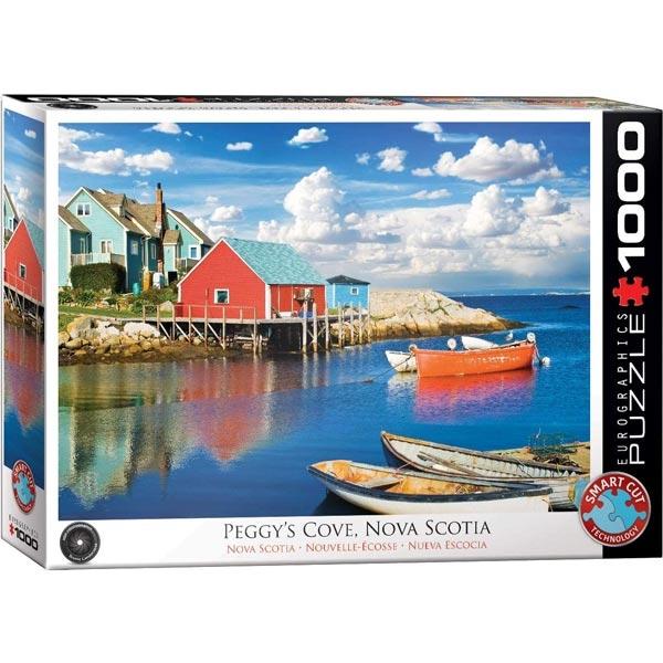 Eurographics Peggy Cove Nova Scotia 1000-Pieces Puzzle 5438 - ODDO igračke