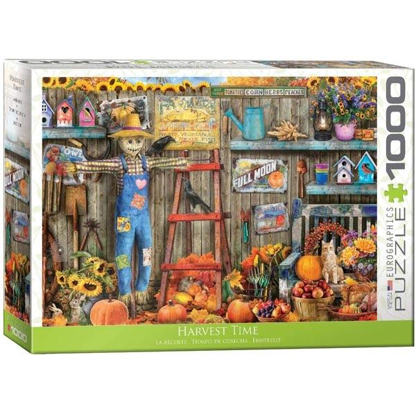 Eurographics Harvest Time 1000-Pieces Puzzle 5448 - ODDO igračke