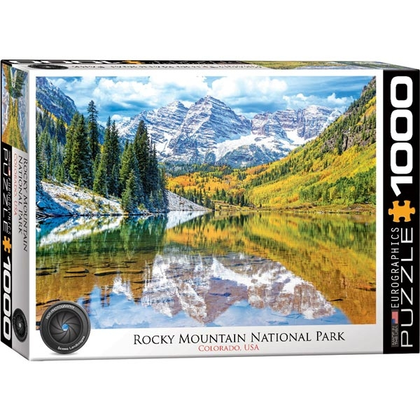 Eurographics Rocky Mountain National Park 1000-Pieces Puzzle 5472 - ODDO igračke