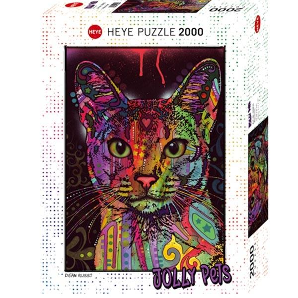 Heyepuzzle 2000 pcs Jolly Pets Abyssinian 29810 - ODDO igračke