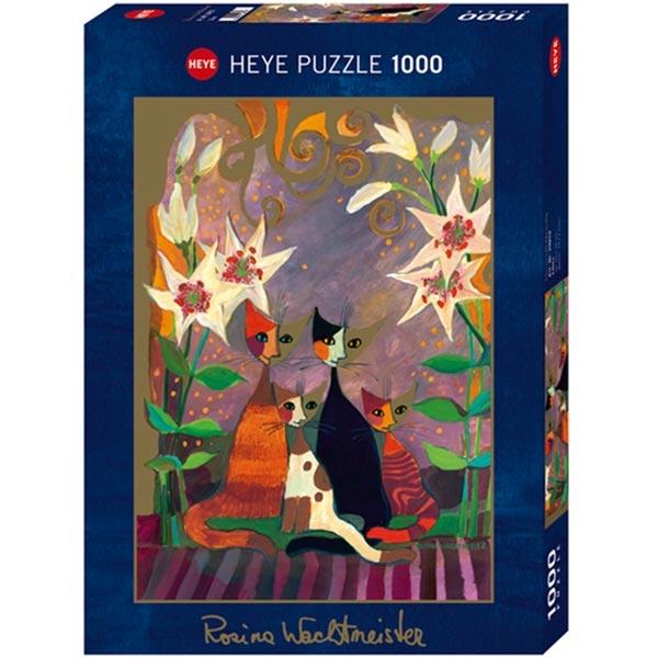 Heye puzzle 1000 pcs Rosina Ljiljani 29819 - ODDO igračke