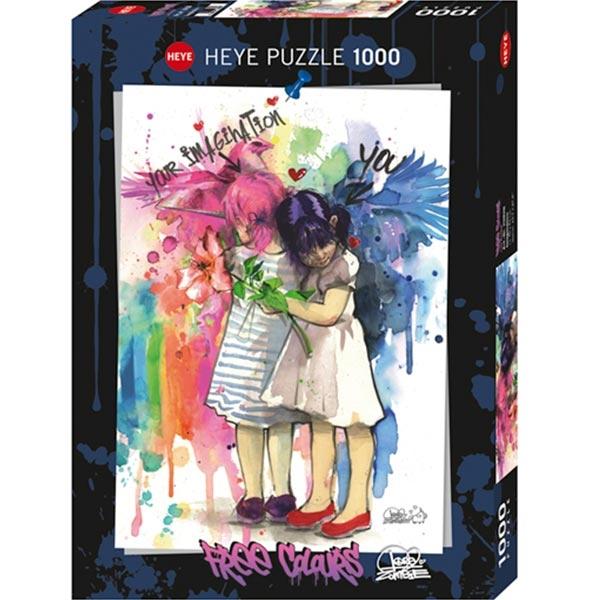 Heye puzzle 1000 pcs Free Colours Maštanje 29826 - ODDO igračke