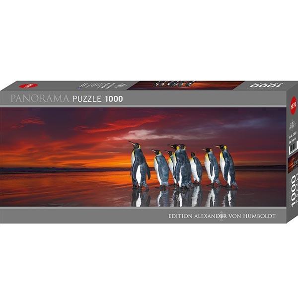 Heyepuzzle 1000 pcs Edition Humboldt Panorama Kraljevski Pingvini 29858 - ODDO igračke