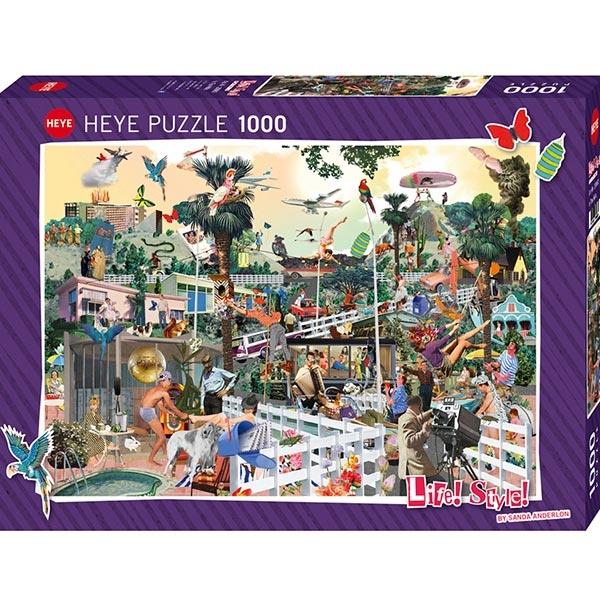 Heye puzzle 1000 pcs Life In Beverly Hills 29863 - ODDO igračke